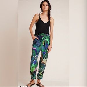 NWT Farm Rio Tropique Embroidered Pants